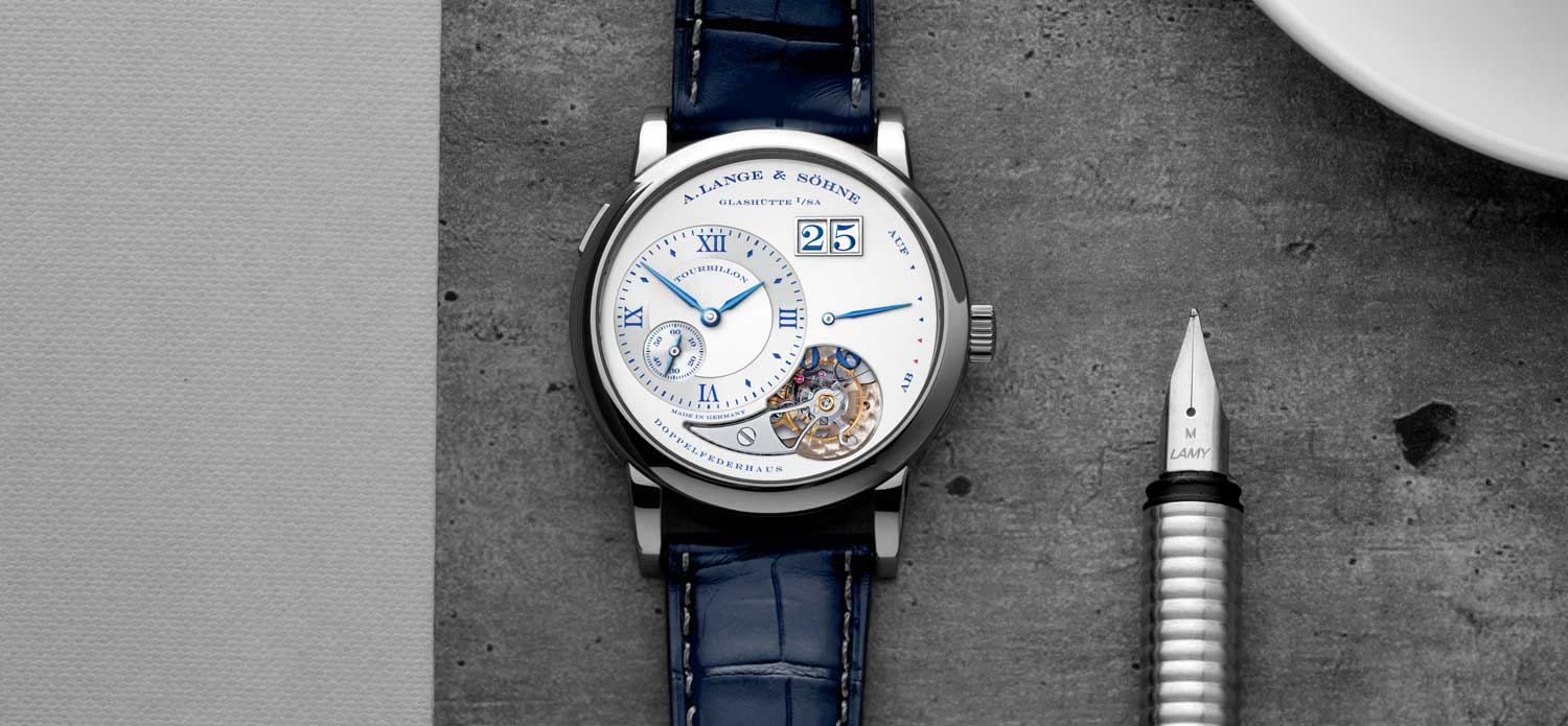 "The Lange 1 Tourbillon ""25th Anniversary"" (Image © Revolution)"