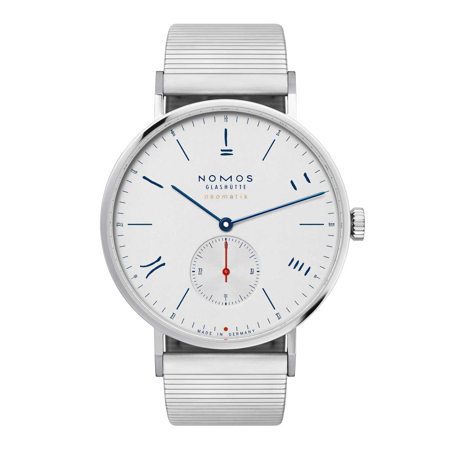 Nomos Red Dot (Silver) 2019 for The Hour Glass' 40th Anniversary