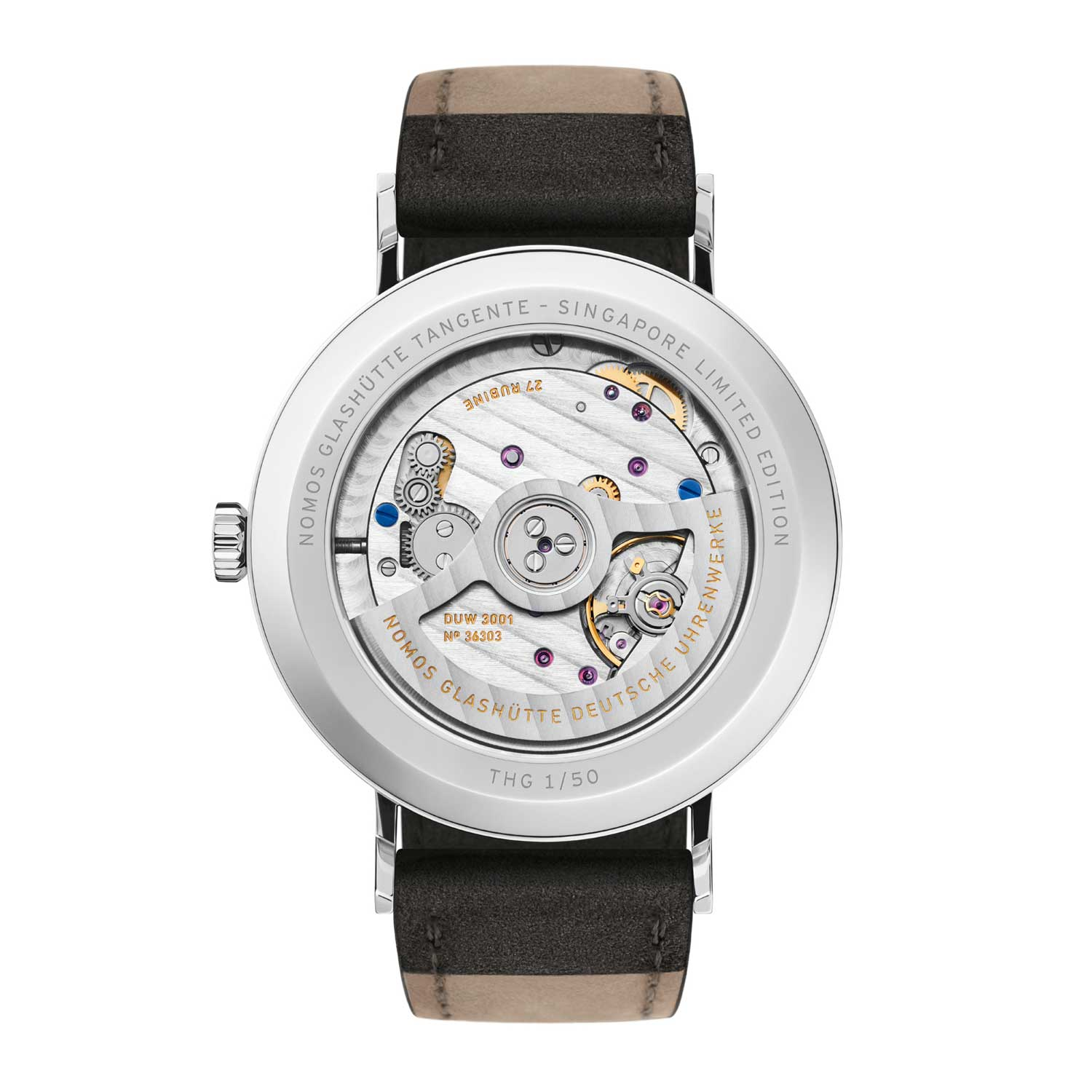 Nomos Red Dot (Ruthenium) 2019 for The Hour Glass' 40th Anniversary