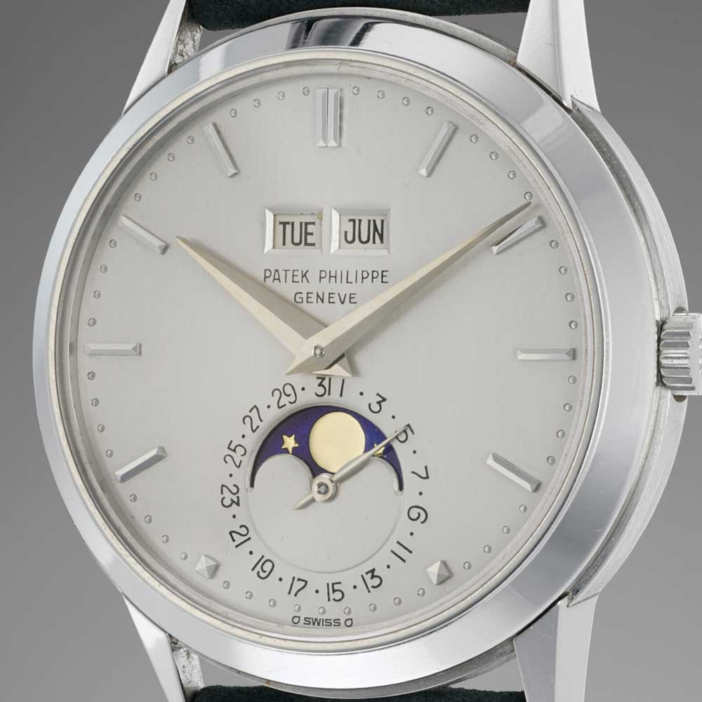 Ref. 3448, 2nd series dial