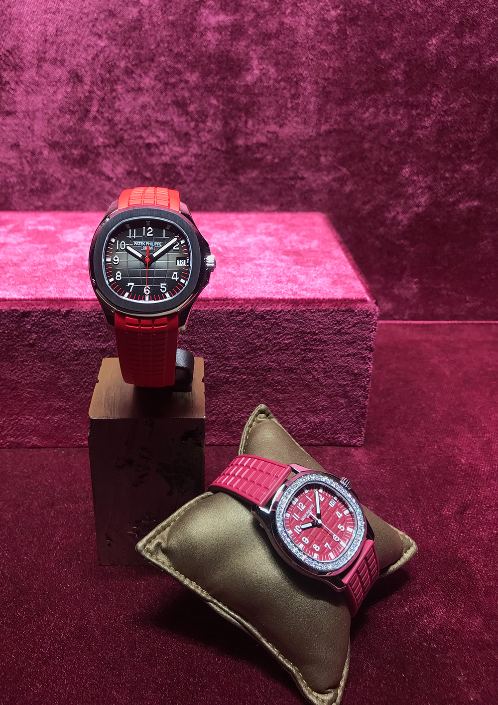 Two of the new special edition watches