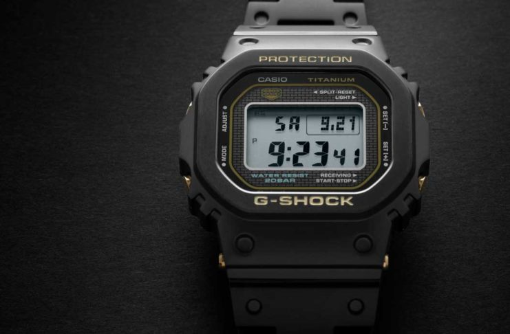 A Close Encounter: G-SHOCK Full Titanium GMW-B5000TB