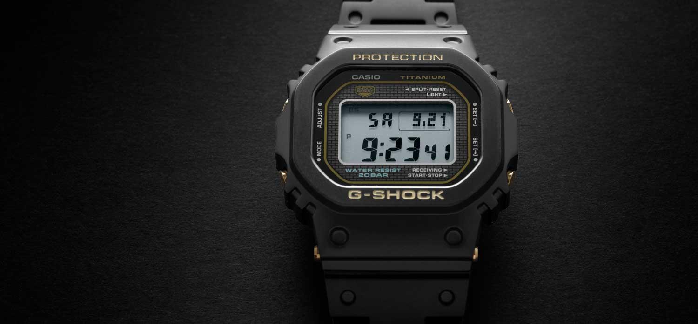 G-SHOCK Full Titanium GMW-B5000TB (Image © Revolution)