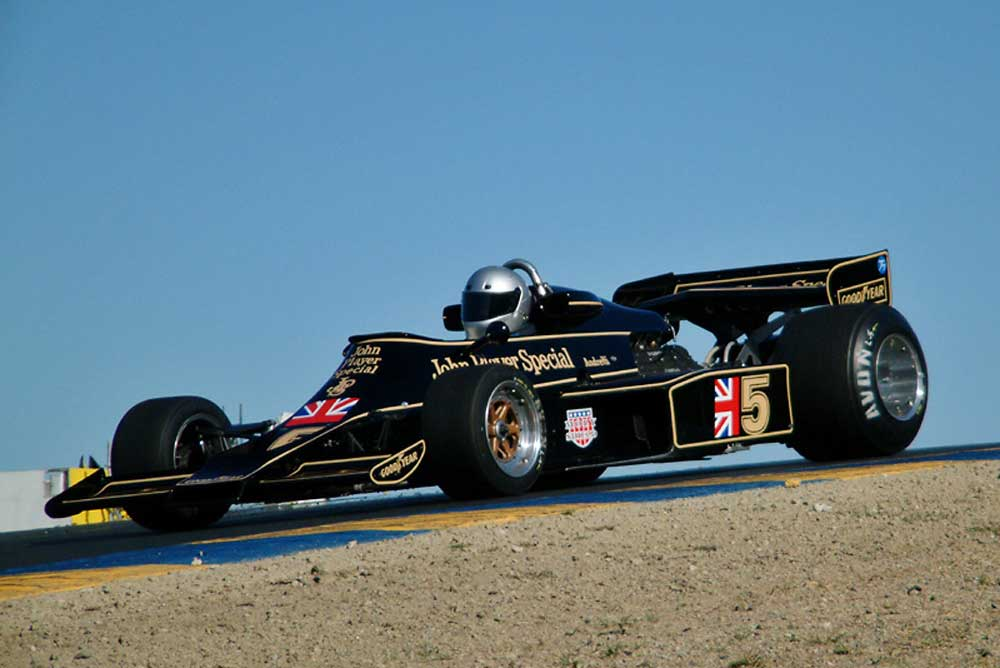 Lotus 77 Formula One car (Photo: Luca Varani)