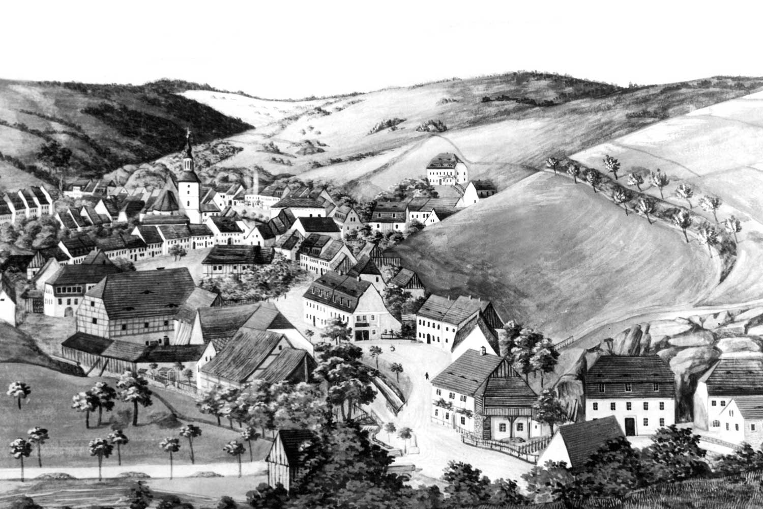 In 1845, in a little valley in the Saxon Ore Mountains, a unique success story began to unfold