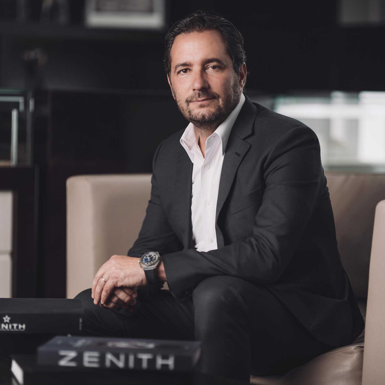 Zenith CEO Julien Tonare