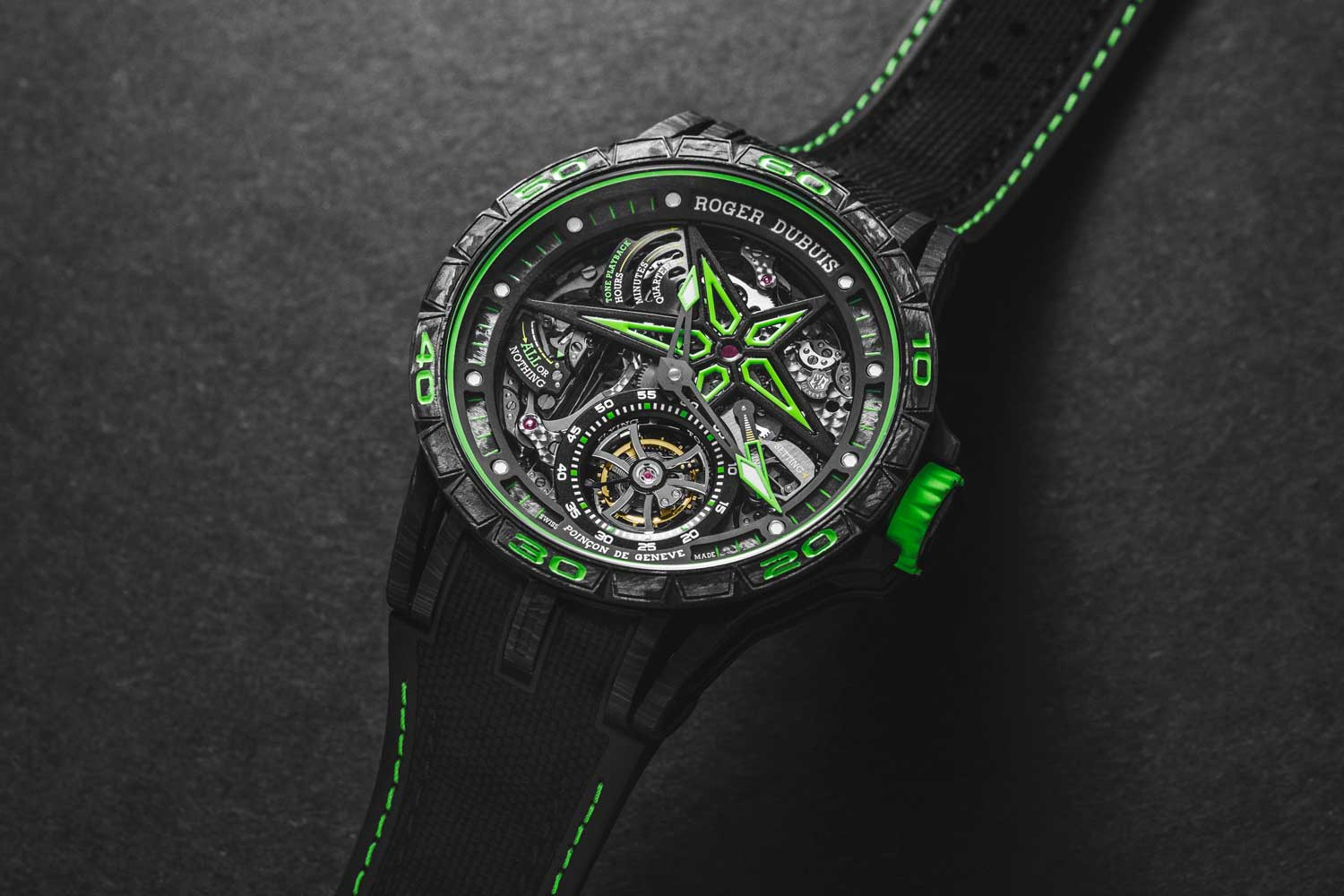 Roger Dubuis Excalibur Spider Unique Series Minute Repeater (Image © Revolution)