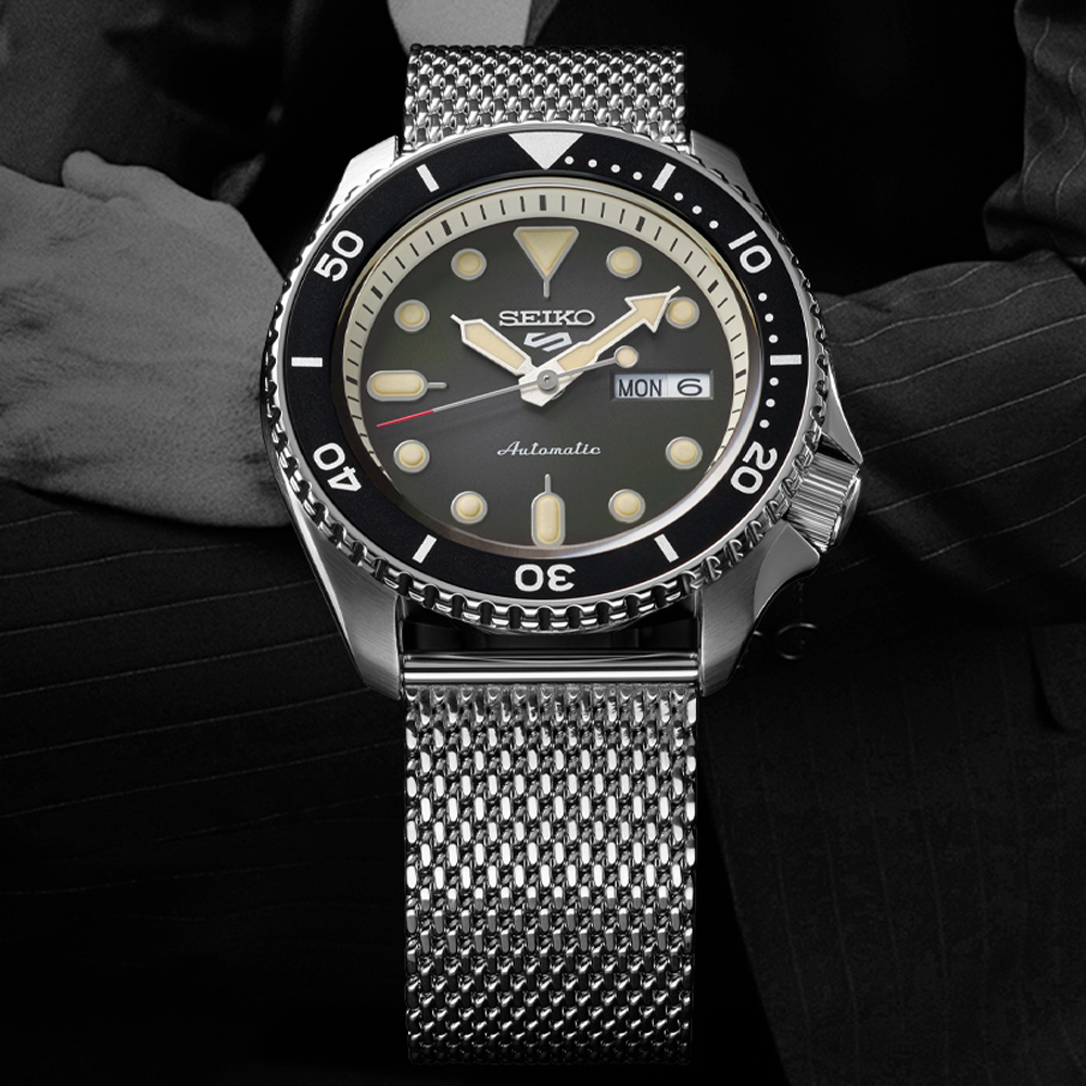 Seiko 5 Suits Style