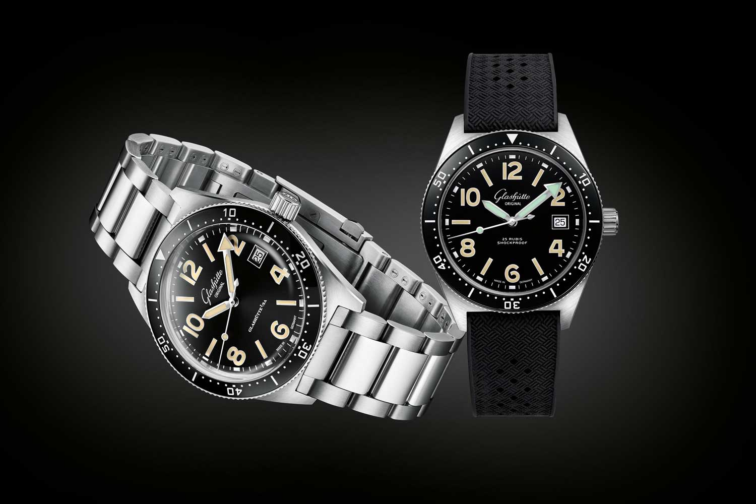 From left: the SeaQ; and SeaQ 1969 – Limited to 69 pieces worldwide