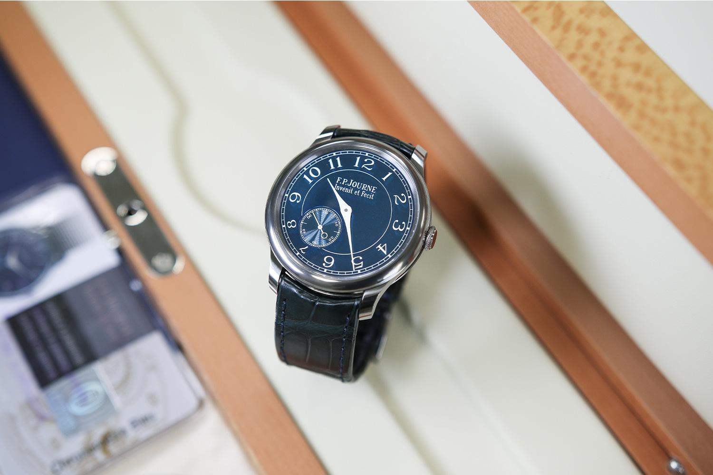 Lot 809 — F.P. Journe Chronomètre Bleu