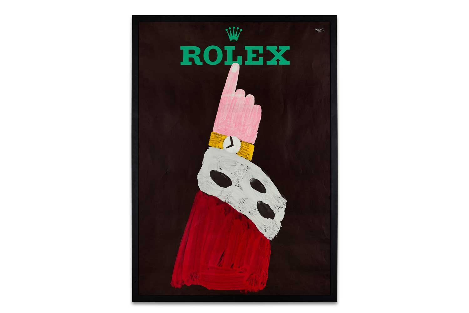 Lot 8142: Rolex and Herbert Leupin - A large advertising poster printed by Wolfsbergdruck, Zurich, circa 1959