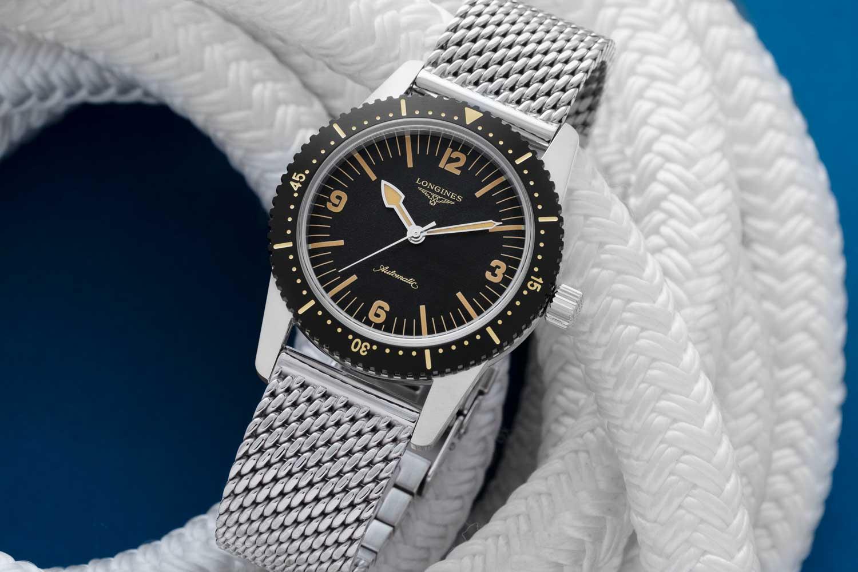 Longines Skin Diver Watch (Image © Revolution)