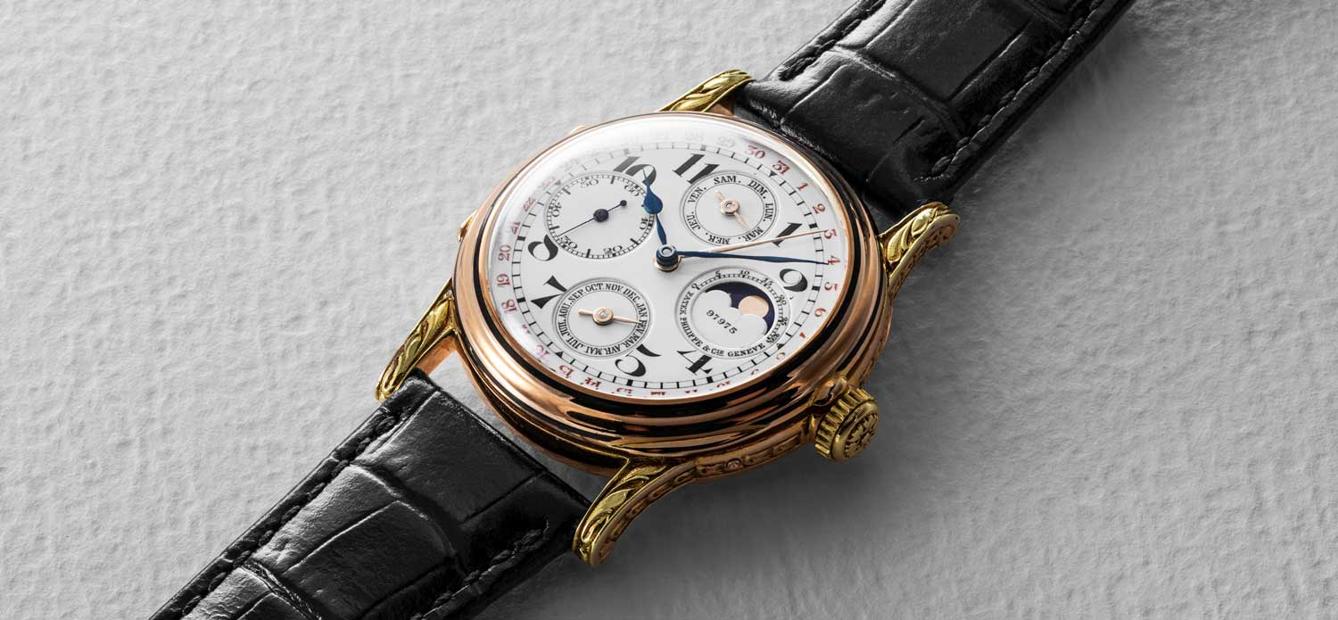 Patek Philippe 97975: The First Wristwatch with Perpetual Calendar (Image © Revolution)