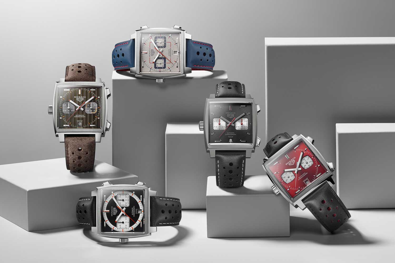 TAG Heuer's Monaco March Through Time Culminates in a Monaco for 2009-2019