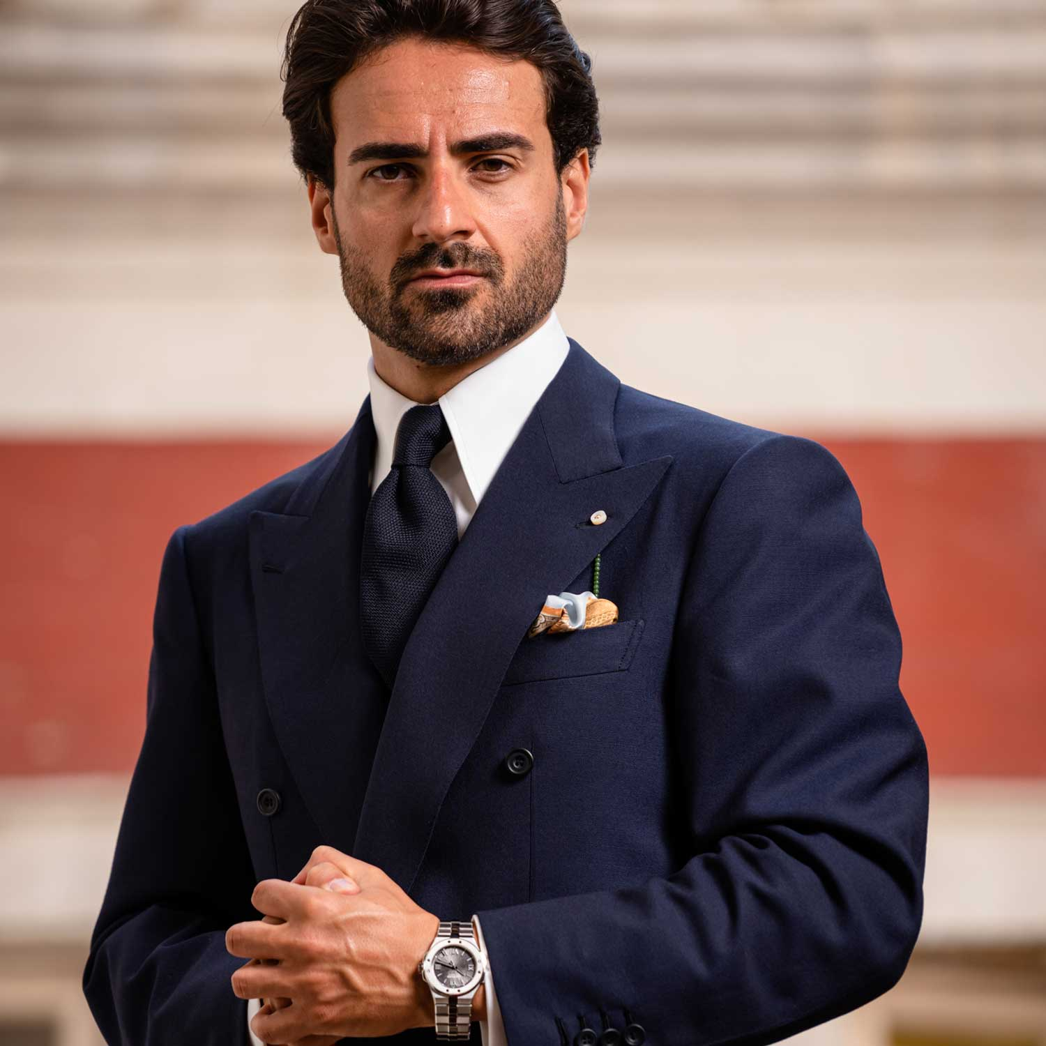 Giorgio with the Chopard Alpine Eagle on his wrist