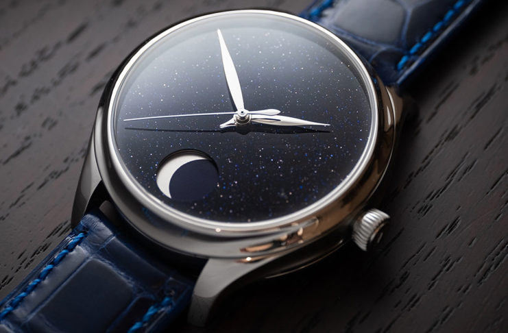 H. Moser & Cie Endeavour Perpetual Moon Concept Aventurine
