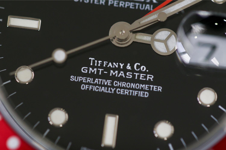"Lot 1113 – Rolex GMT-Master ""Tiffany & Co"""