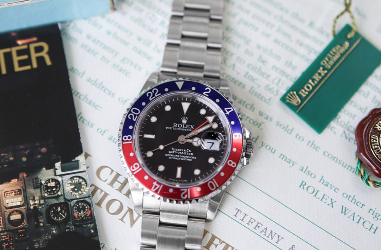 "Lot 1113 – Rolex GMT-Master ""Tiffany & Co"""