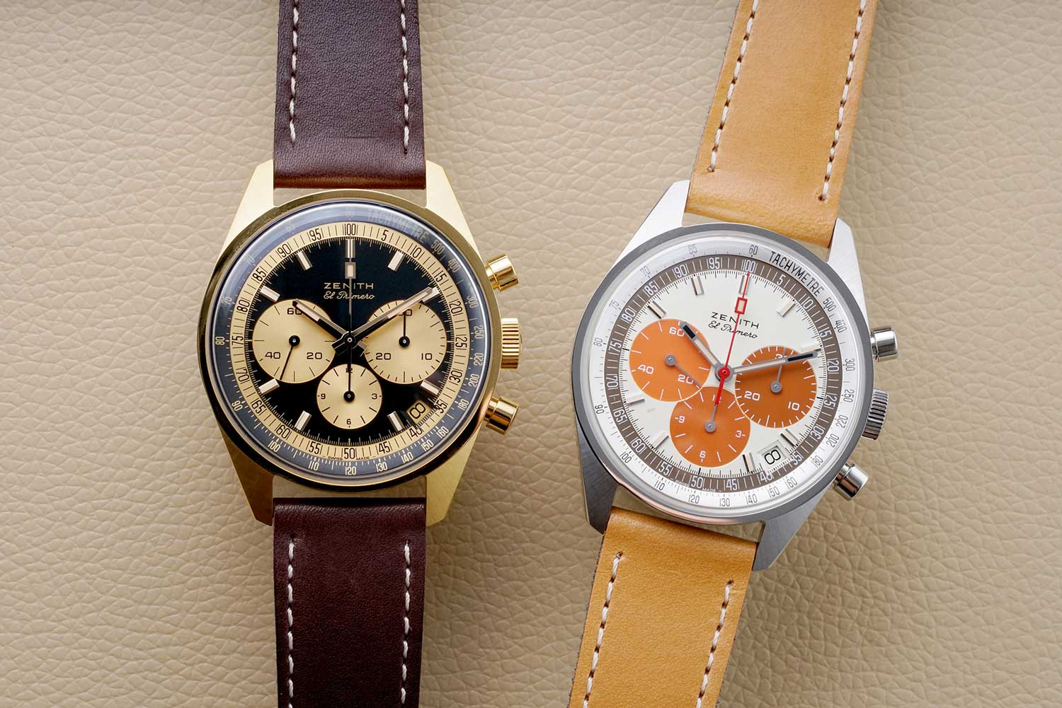 El Primero A386 Revival – Yellow Gold and Steel (Image: Phillips Watches)
