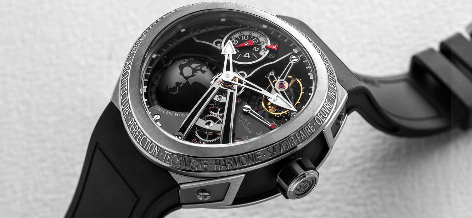 Greubel Forsey GMT Sport in Glorious 3D