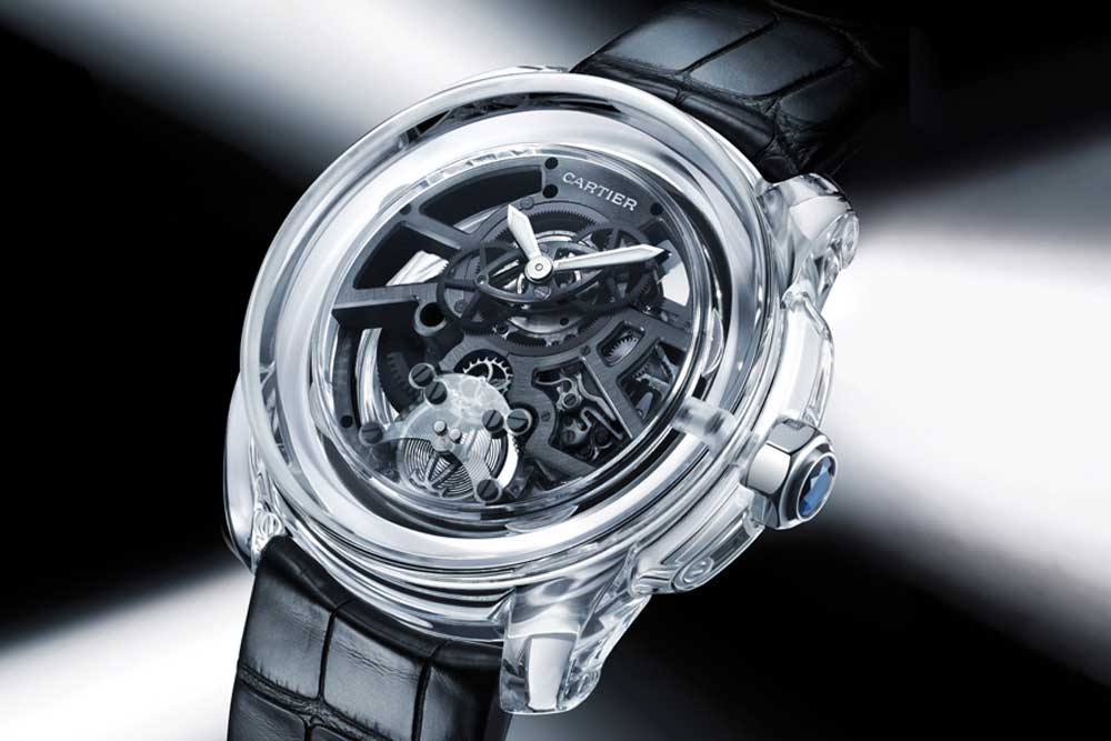 Cartier ID Two with polycrystalline ceramic case