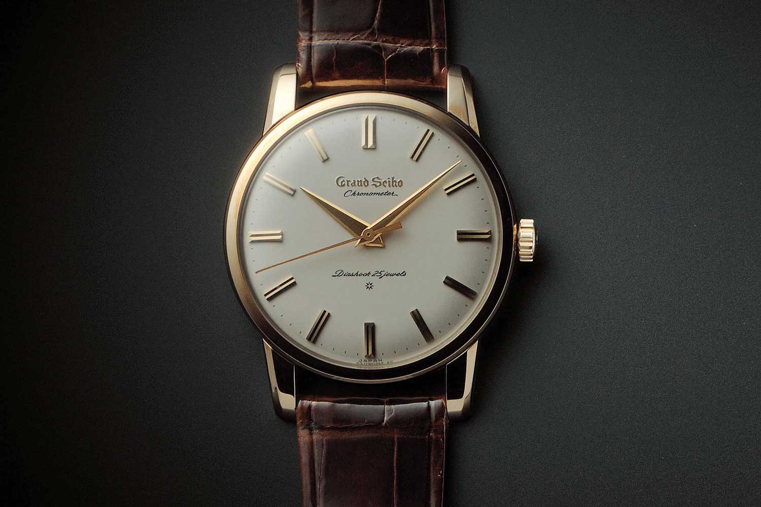 The first Grand Seiko model debuted in 1960
