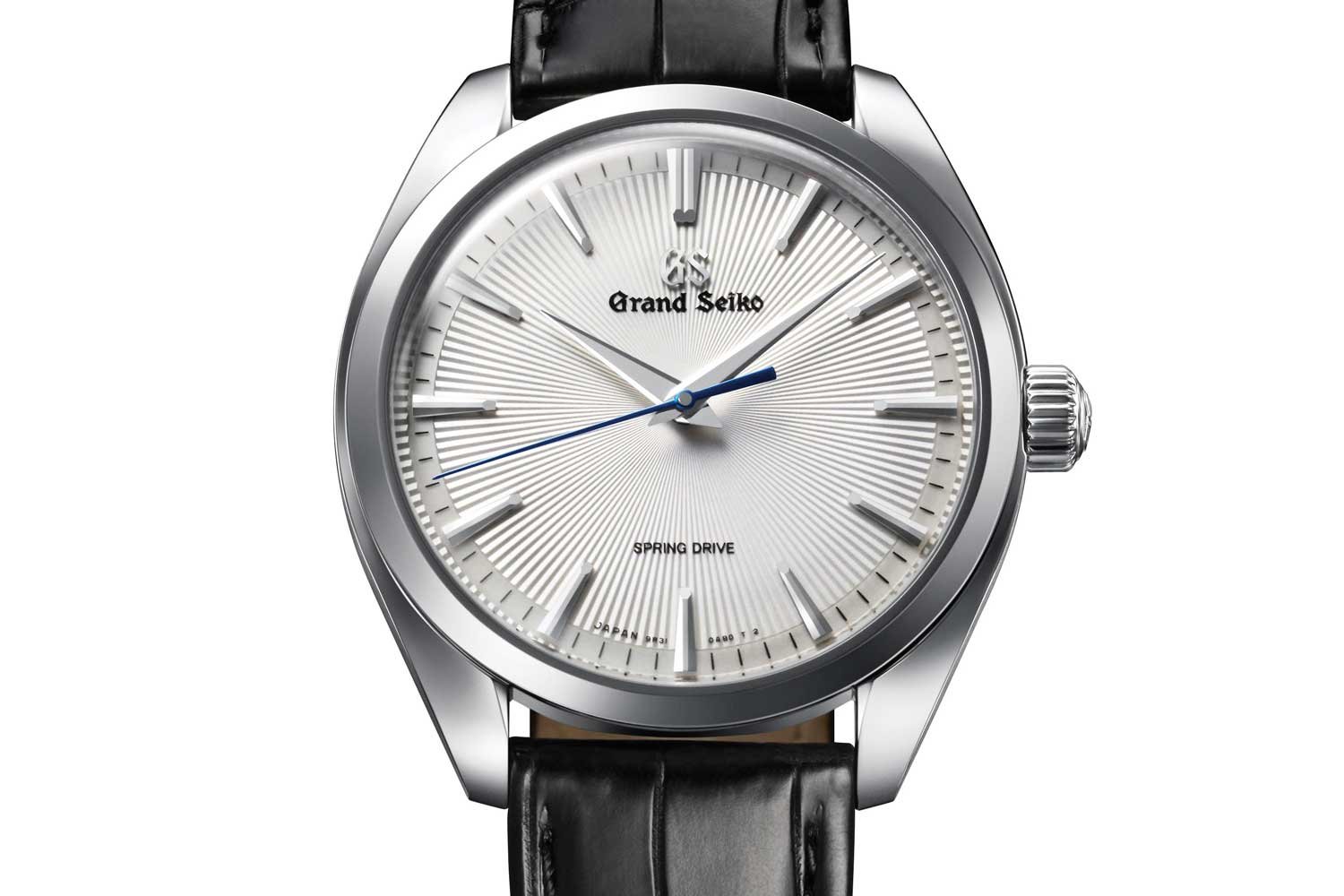 Grand Seiko Elegance SBGY003 with guilloché style patterned dial
