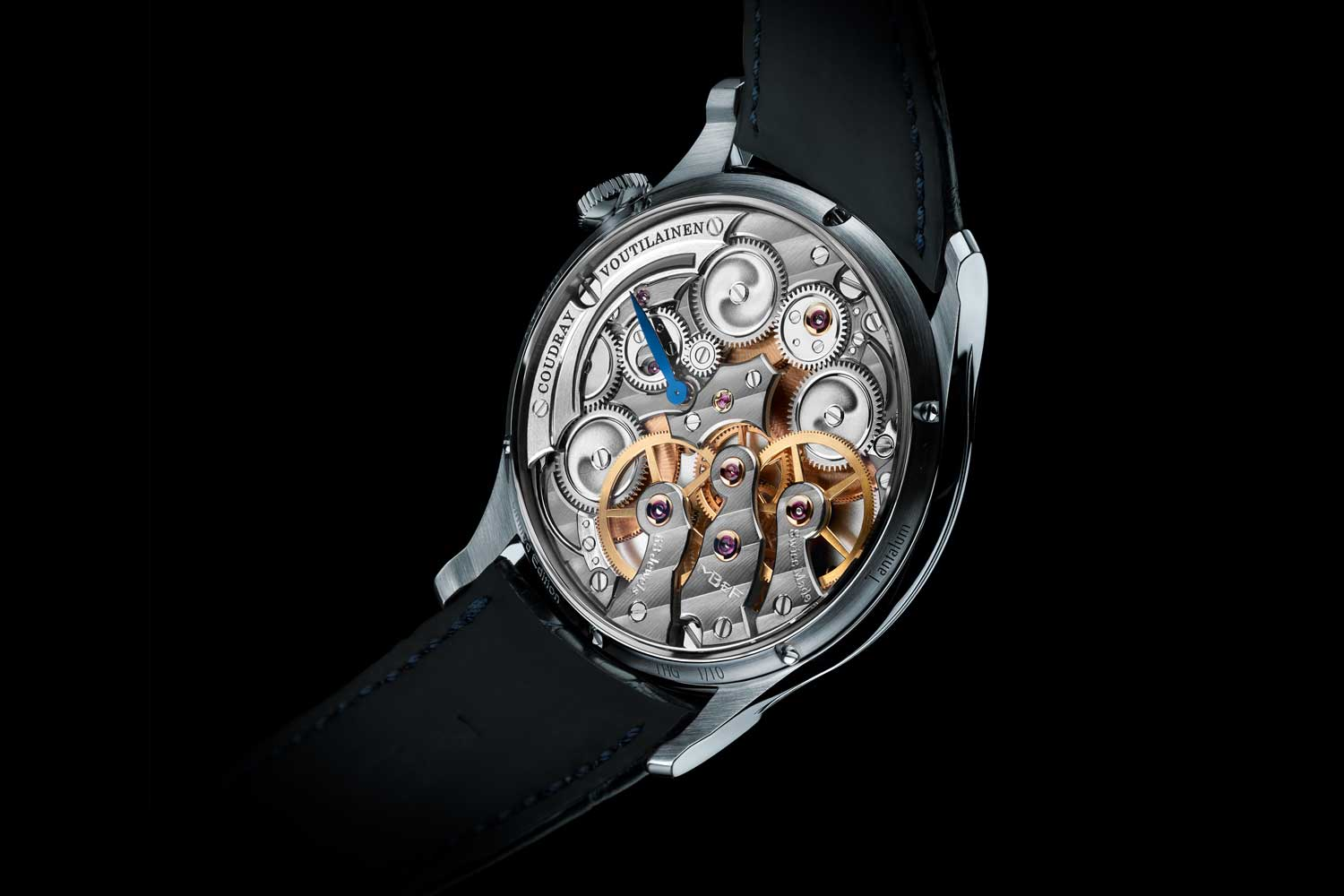 MB&F LM Thunderdome The Hour Glass Commemorative Edition in tantalum