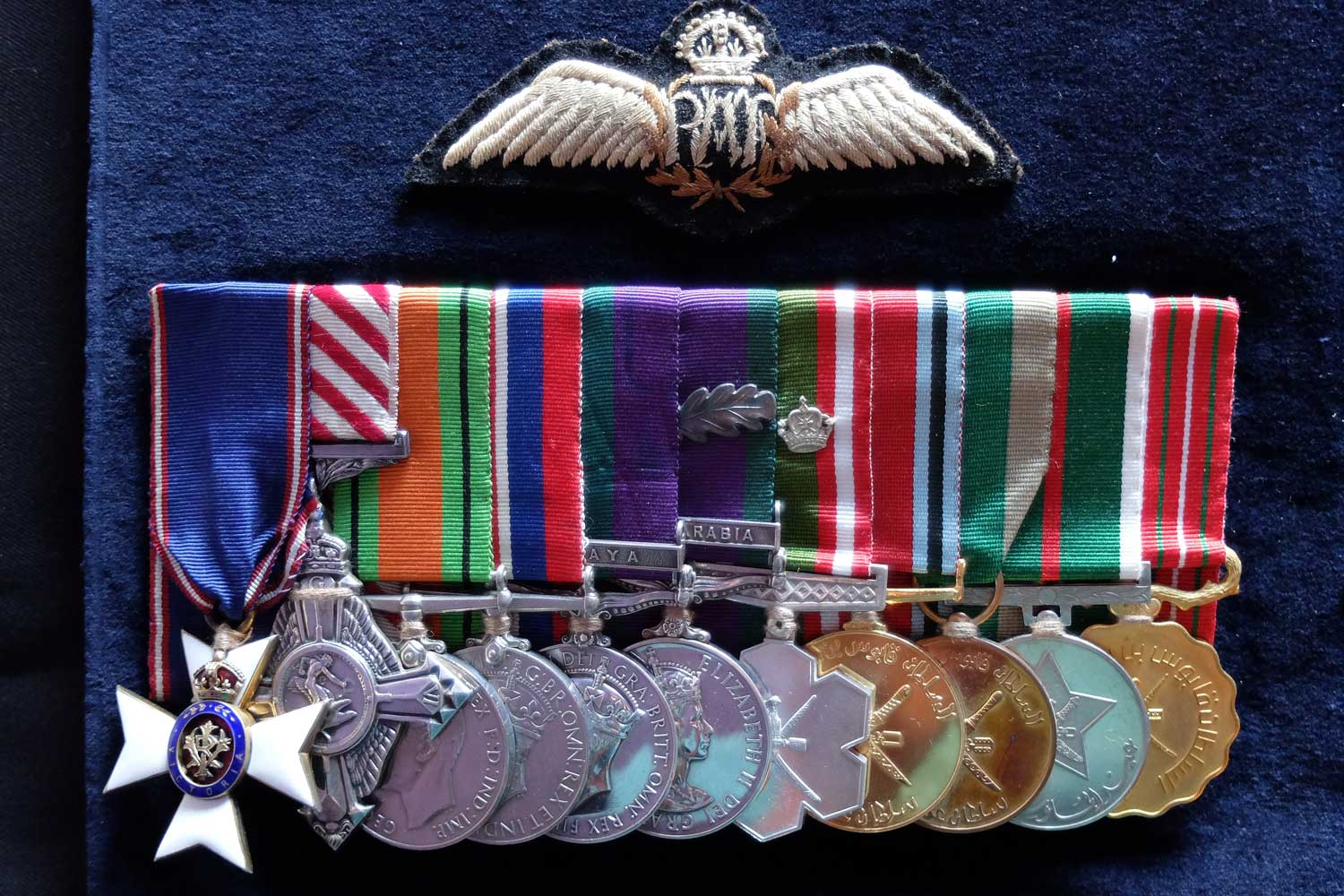 Group Captain Wood's Medals