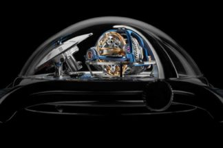 MB&F LM Thunderdome in platinum