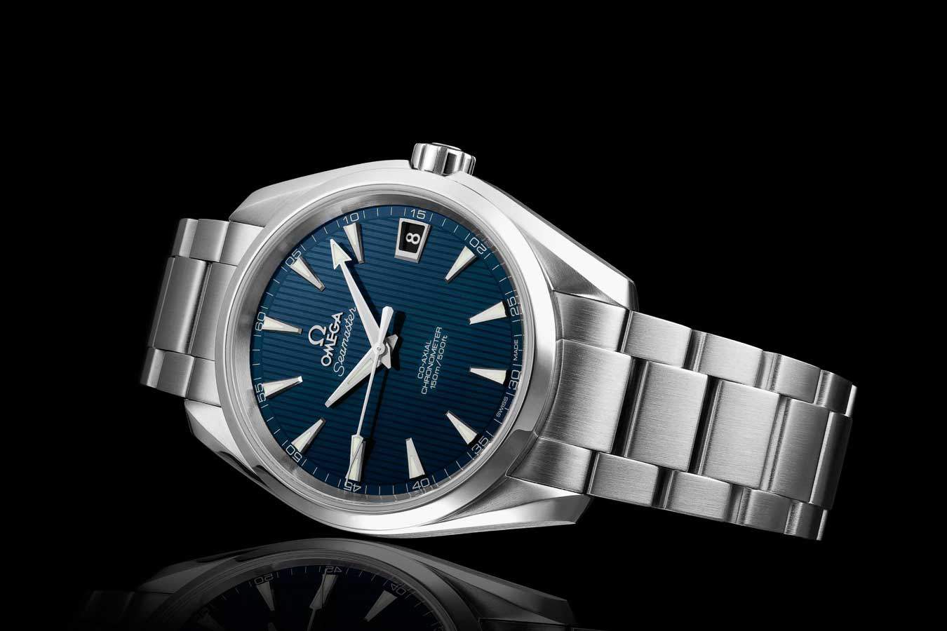 Omega Seamaster Aqua Terra 150M worn by Bond in Skyfall (2012)