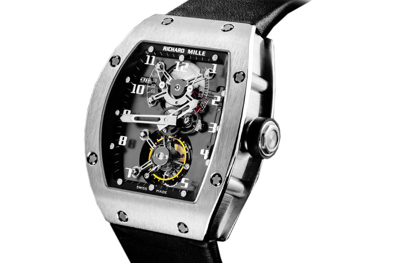 Richard Mille RM 001 Tourbillon presented in 2001