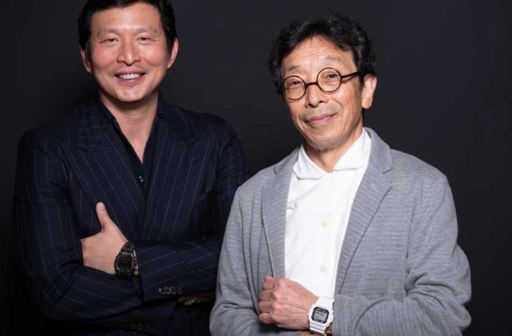 Revolution's founding editor, Wei Koh with the father of the G-SHOCK, Kikuo Ibe (Image © Revolution)