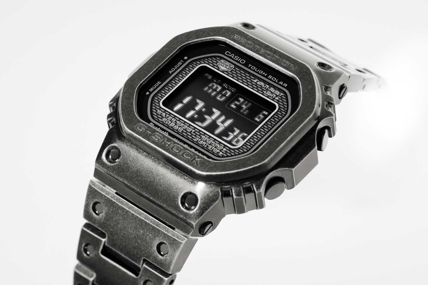 G-SHOCK GMW-B5000V Black Aged IP (Image © Revolution)
