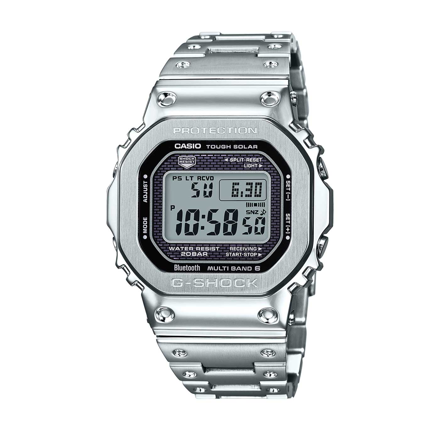 G-SHOCK Full Metal 5000 GMW-B5000D-1 in stainless steel