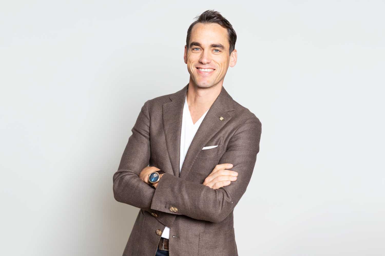 Edouard Meylan, CEO of H. Moser & Cie