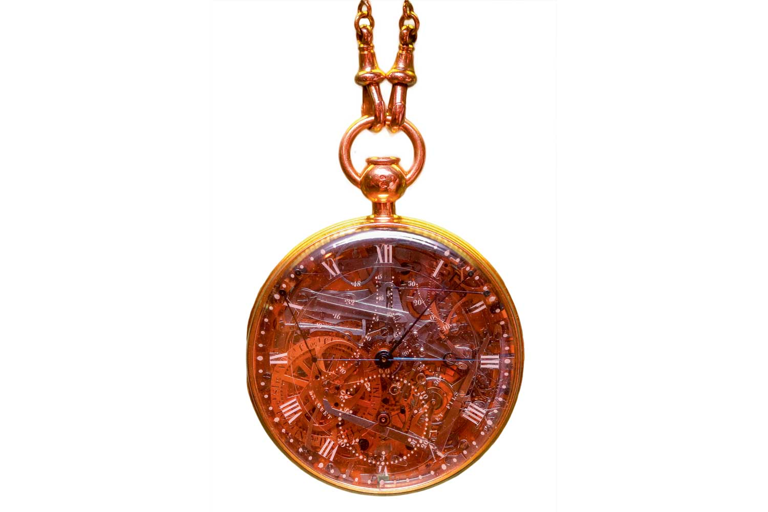 Breguet's pocket watch No. 160, commissioned for Marie Antoinette
