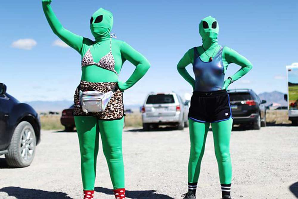 Alien hunters at the Storm Area 51 event