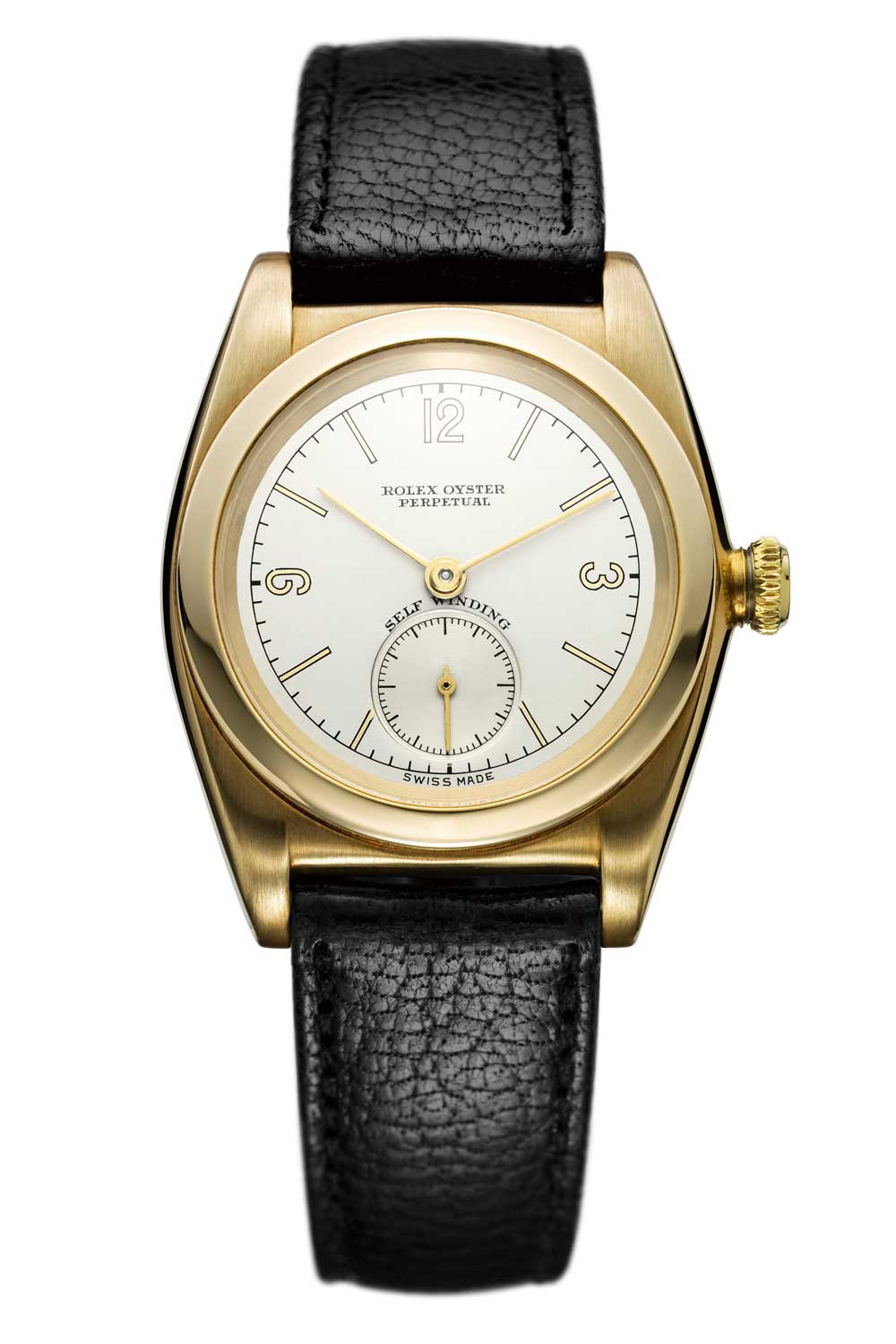 The first Oyster Perpetual watch with automatic winding in 1931