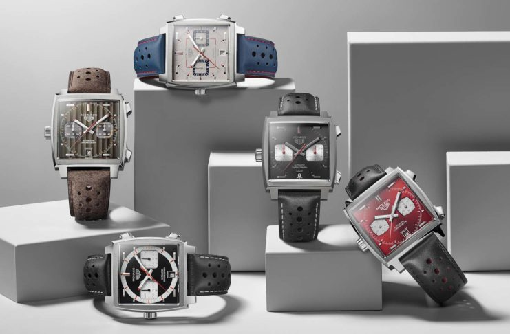 Monaco Through Time limited edition watches