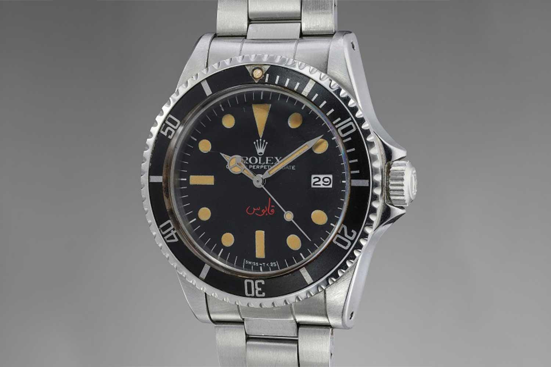 Rolex Sea-Dwellers 1665 Quaboos Signature (Image: RPR)