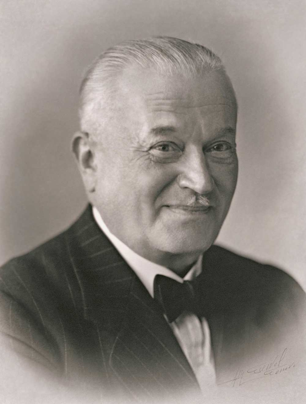 Hans Wilsdorf, founder of Rolex