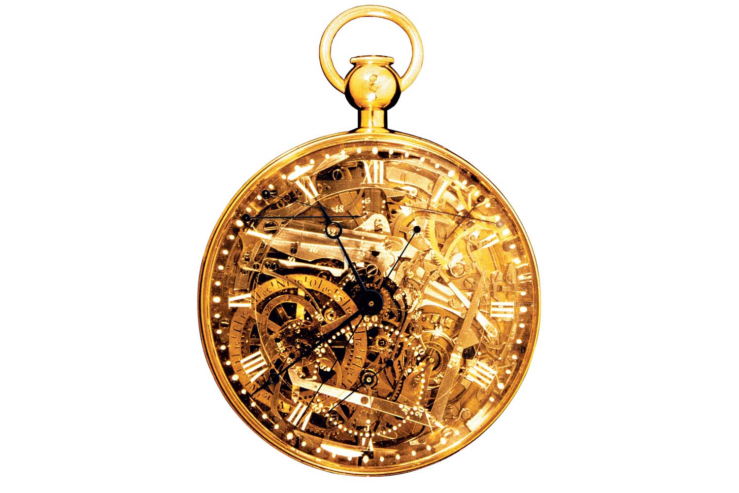 The original pocket watch 160 made for Marie Antoinette