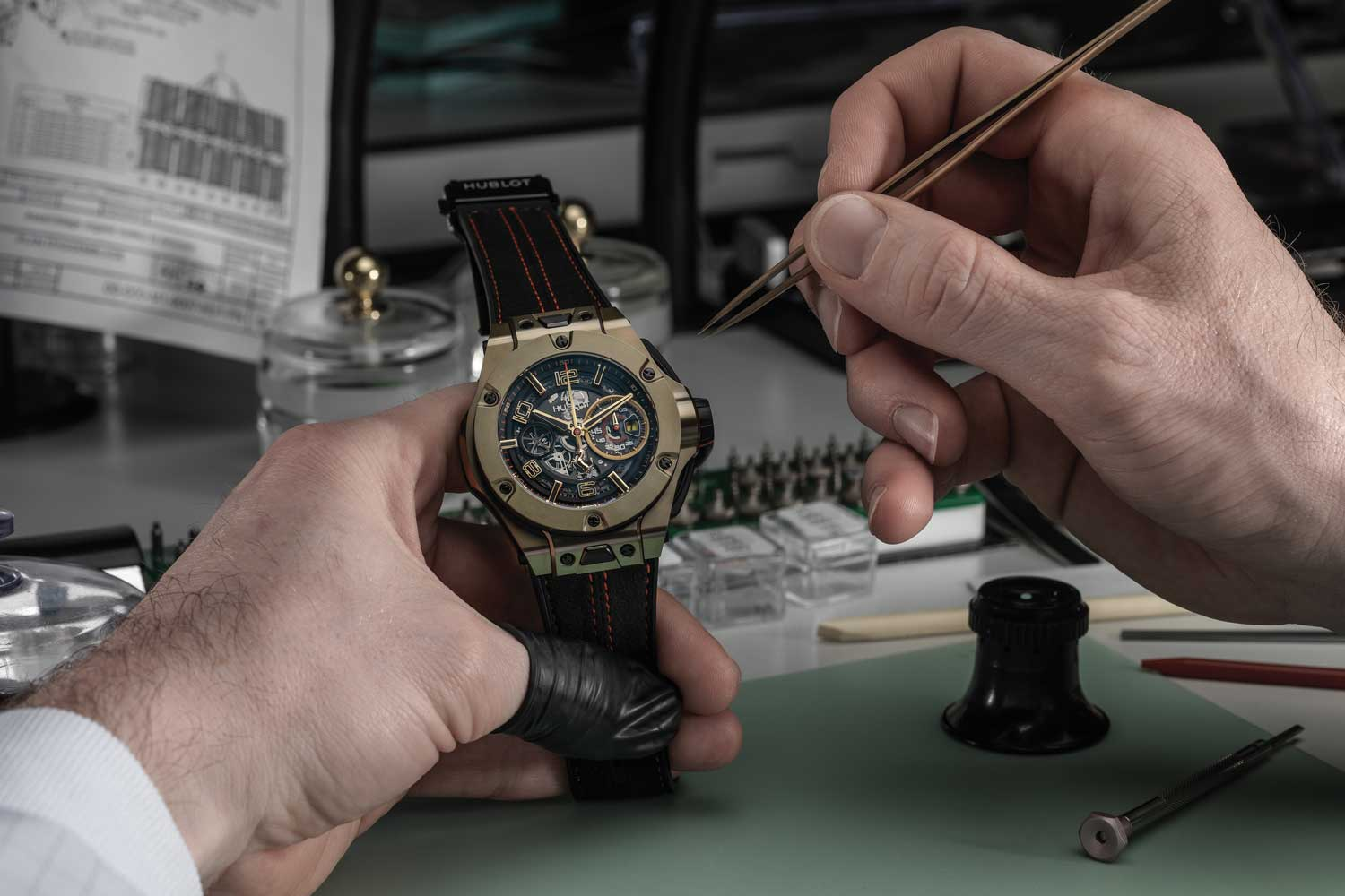 Hublot Big Bang Magic Gold
