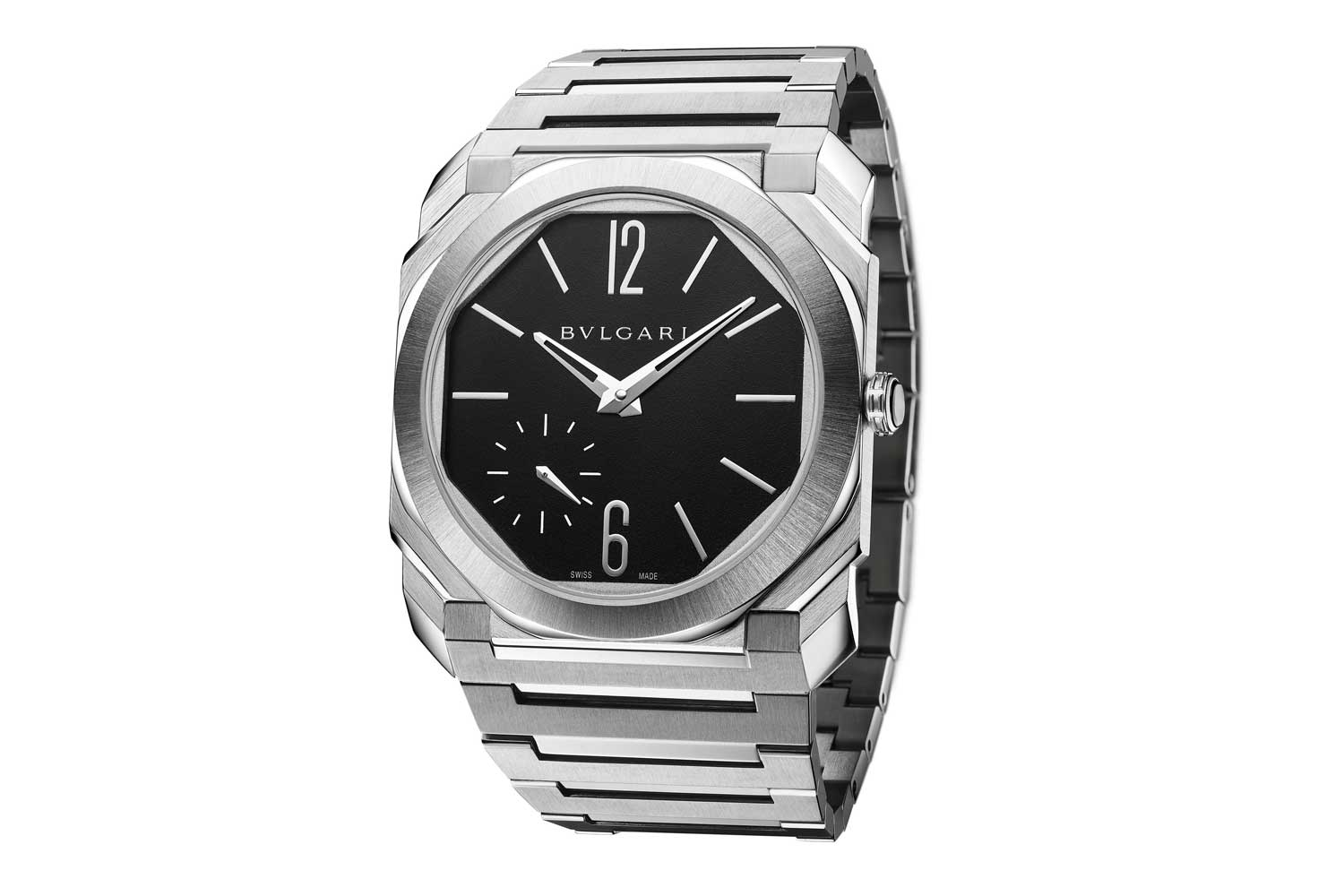 Octo Finissimo Automatic Satin-Polished Steel 103297