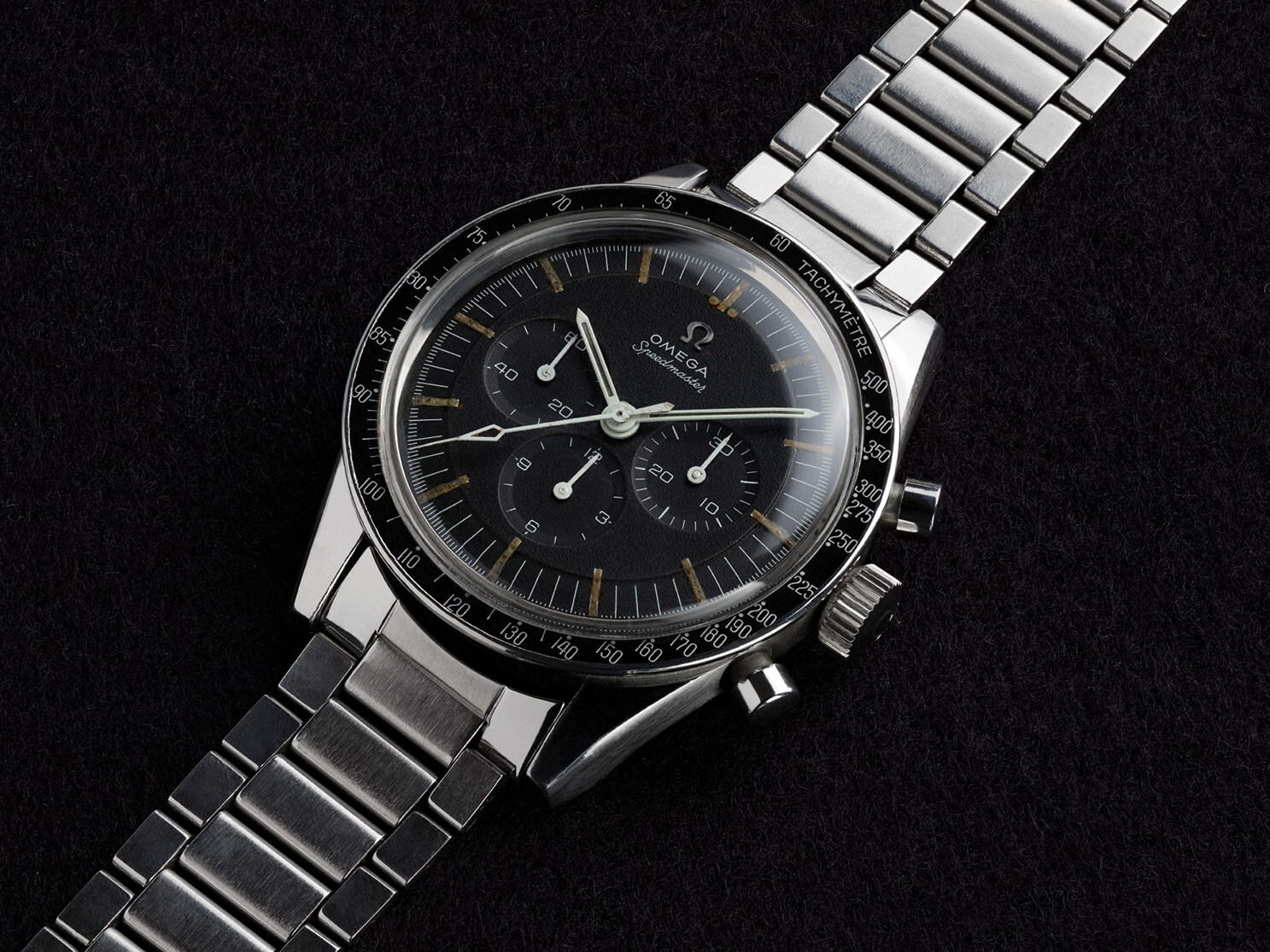 """The third generation of the Speedmaster, the ST 105.003, better known by the collecting community as the """"Ed White"""""""