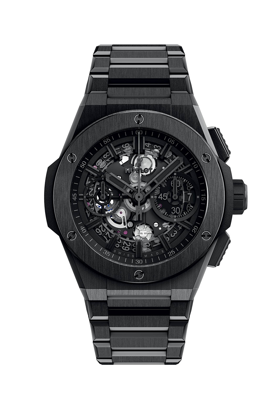 Hublot Big Bang Integral All Black in satin-finished and polished ceramic