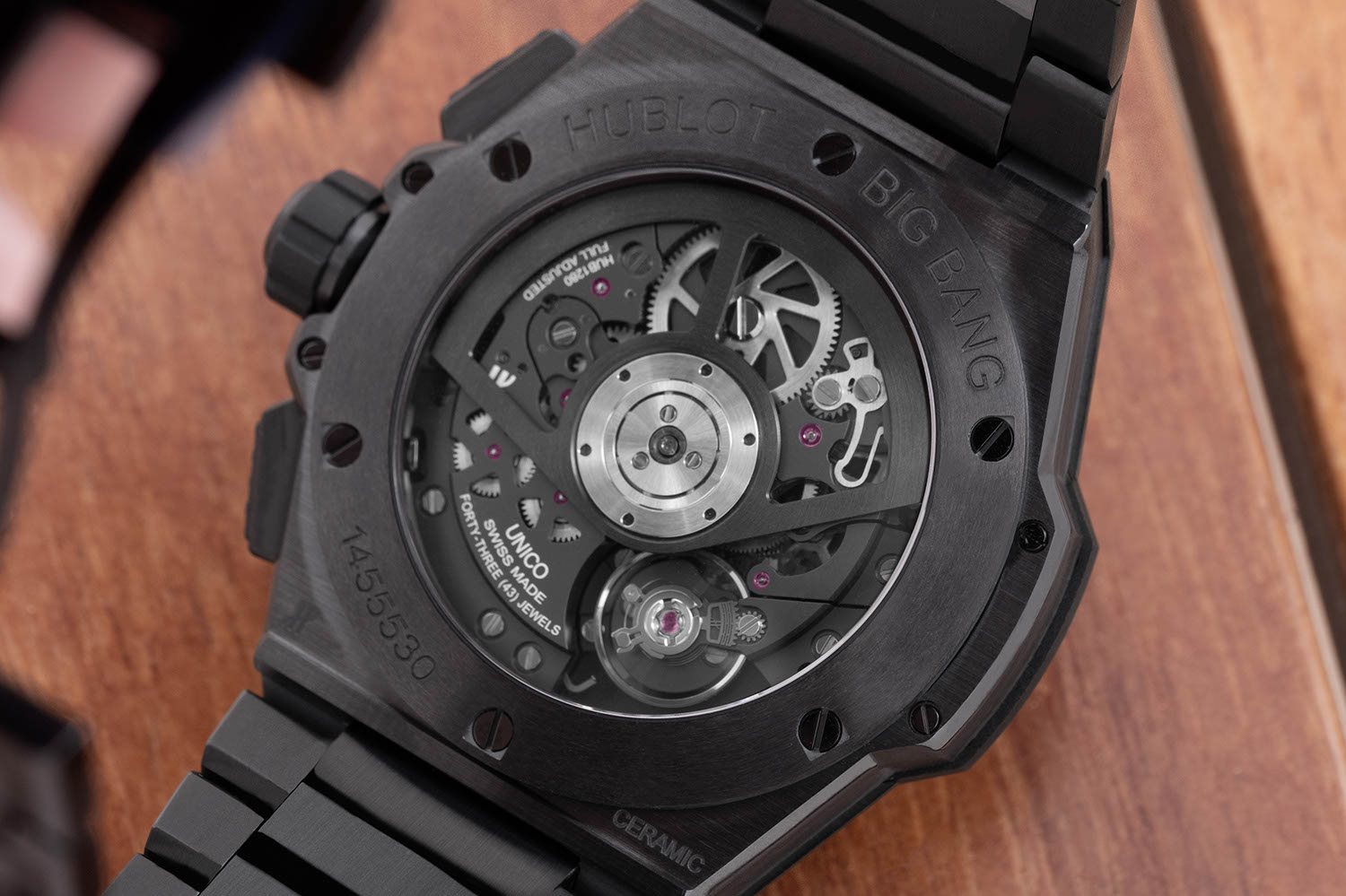 Hublot Big Bang Integral is powered by the self-winding HUB1280 UNICO Manufacture movement (Image © Revolution)