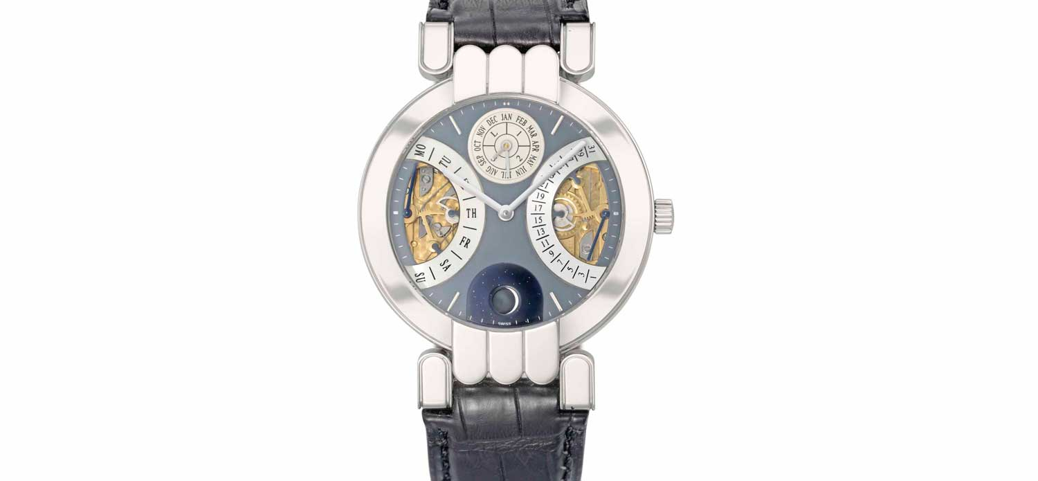 Harry Winston, a fine rare platinum limited edition watch (Credit: Christie's)