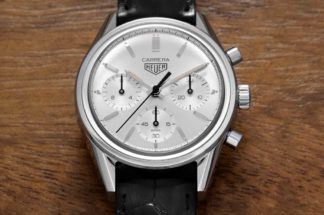 TAG Heuer Carrera 160 Years Silver Limited Edition (Image © Revolution)